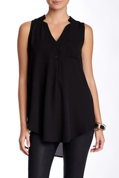 Lush | V-Neck Tank (Juniors) | Nordstrom Rack