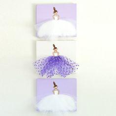 Baby meisje kwekerij Decor Ballerina Art Baby meisje kwekerij