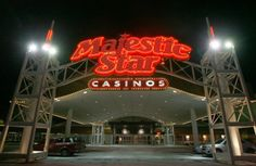Majestic Star Gary, Indiana~This Hotel looks over the magnificient Lake Michigan and you have to pay to drink in this casino! I was dumbfounded when I ordered a heineken and was asked for $4.50!!!!!