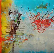 contemporary colorful abstract paintings - Google Search
