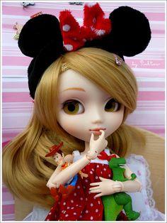~ Fan of… Disney ~ [Pullip MM custom] by • PinkC0w •, via Flickr