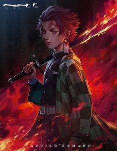 Demon Slayer - Tanjiro Kamado - Fanart, CHA WAK