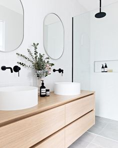 "T A R A W O K U L S K I on Instagram: ""Mini bathroom tour of project Murphy Street's Master Ensuite. . . When designing and styling this bathroom there were a few key things I…"""
