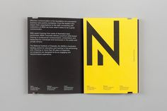 Corporate handbook designed by Maud for The National Institute of Dramatic Art