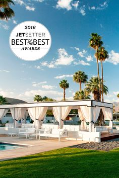 The winner for Best Pool Scene is L'Horizon Hotel and Spa in Palm Springs for our 2016 Best of the Best Awards. #BestAwards