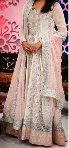 Eminent Engagement Anarkali Lehenga Wedding style by Ethnicdresses, $311.98