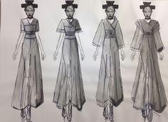 Board 12  #Japan #Samurai #AlexanderMcQueen #McQueen #Fashion #Illustration #FashionIllustration #Design #Project