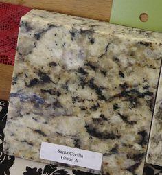 Santa Cecelia Granite countertop