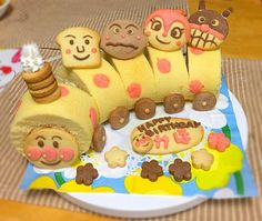 アンパンマン誕生日ケーキ