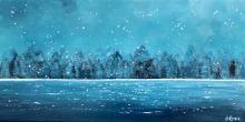 Bonne Année! | Johanne Kourie - Artiste peintre Waves, Outdoor, Happy New Years Eve, Outdoors, Ocean Waves, Outdoor Games, Outdoor Life, Beach Waves, Wave