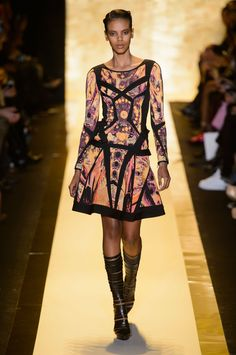 HERVE LEGER BY MAX AZRIA - FALL 2015 RTW