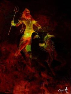 Lord Shiva marching on...