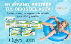 En verano protege tus oídos del agua, tapones de cera, de espuma o de natación para niños y adultos.