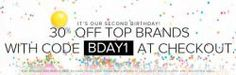 The Iconic Celebrates Birthday: Off Top Brands - Until 30 Oct 2013