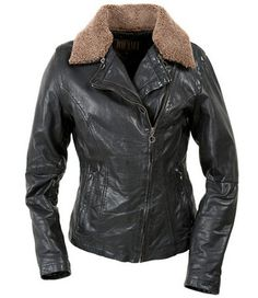 Jofama - vill ha Leather Jacket, My Style, Jackets, Fashion, Studded Leather Jacket, Down Jackets, Moda, Leather Jackets, Fashion Styles