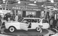 World Premiere of the Ford Falcon station wagon