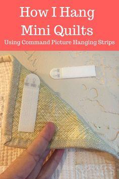 How I Hang Mini Quilts                                                                                                                                                                                 More