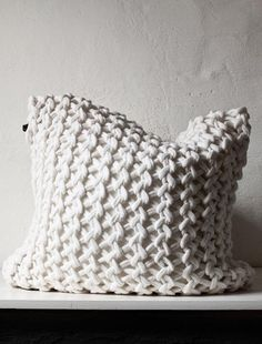 .I think I am in love!  Winter is right around the corner and my couch is in need of these pillows