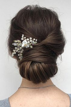 up half down wedding hair hair bridesmaid hair extensions hair stylist hair ideas bridesmaids wedding hair updos hair with extensions hair flower Wedding Hair And Makeup, Wedding Updo, Wedding Reception, Wedding Vows, Party Wedding, Boho Wedding, Wedding Hair Bangs, Wedding Headpieces, Wedding Rings