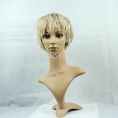 New Arrival Charming 100%Human Hair Short Straight Top Quality Wig  $68.00