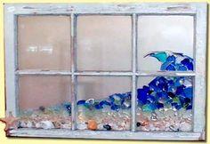 sea glass window:
