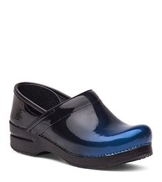 Professional Blue Ombre Patent from the Stapled Clog