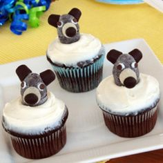 Baloo's Birthday Cupcakes. #BareNecessities