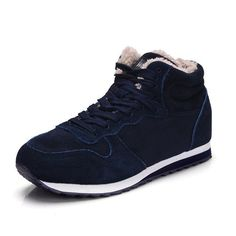 0d4aecaff1b280 Bolangdi Genuine Leather Winter Men Women Boots Warm Plush Sneakers Brand  Outdoor Unisex Sport Shoes Comfortable