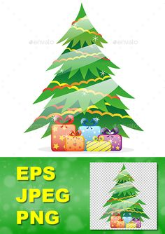 Includes:Christmas Tree.eps (EPS 10) Christmas Tree.jpgChristmas Tree.pngMerry Christmas and Happy New Year!