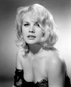 Carroll Baker, 1960s movie actress, publicity photo for The Carpetbaggers