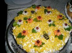 Cake Sandwich o Cake Sandwich - comida española Iranian Cuisine, Iranian Food, Cute Food, Good Food, Veggie Cakes, Beach Meals, Sandwich Cake, Food Decoration, Food Humor