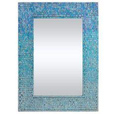 """Ren Wil MT1450 Mosaic 31"""" High by 23"""" Wide Catarina Mirror"""