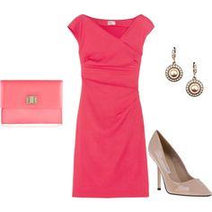 Classic Pink Sunday Dress