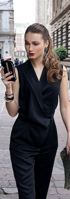 63 Best Business Fall Outfits Ideas for Executive Women Fashion Mode, Fashion Beauty, Street Fashion, Street Chic, Street Style, Look 2017, Executive Woman, City Chic, Elegant Woman
