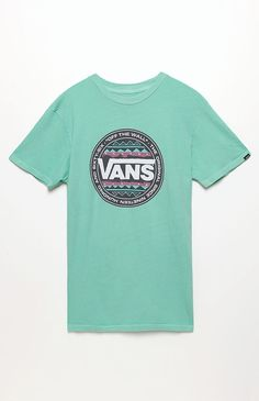 Vans Original Tribe T-Shirt - Mens Tee - Green