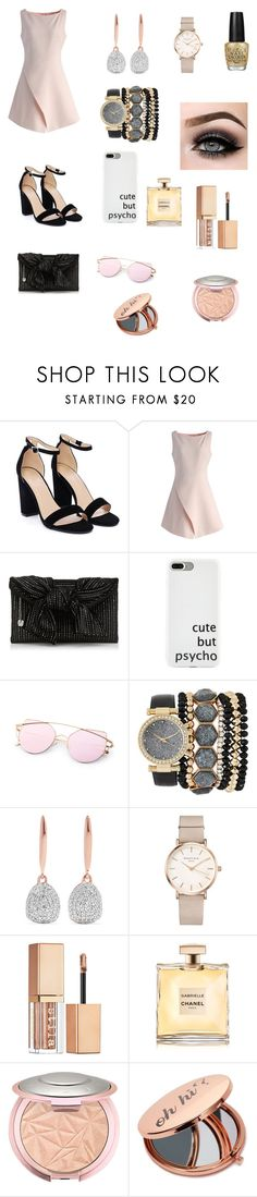 """Girly Night Out 😋☺️"" by santana15 ❤ liked on Polyvore featuring Nasty Gal, Chicwish, Jessica Carlyle, Monica Vinader, ROSEFIELD, ASAP, Stila, OPI and Miss Selfridge"