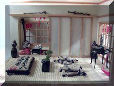 Samurai Summer House Interior