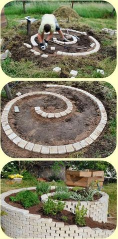 Most Amazing Front Yard and Backyard Landscaping Ideas, Smart And Stylish Garden Ideas Gаrdеnіng Idеаѕ On a Budgеt 2020 belviradesign. Outdoor Projects, Garden Projects, Spiral Garden, Rock Garden Design, Corner Garden, Front Yard Landscaping, Landscaping Ideas, Shade Garden, Garden Beds