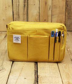 Delfonics Carry Bag - Medium - Yellow   NoteMaker - Australia's Leading Online Stationery Shop
