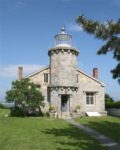 Stonington Harbor Lighthouse - Connecticut.  Climbed to the top, a small lighthouse.  $10.00 entry fee.  Sept. 6th.