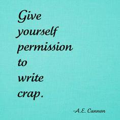 I hereby grant myself such permission.