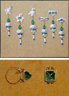 Cartier jewelry designs, 1937