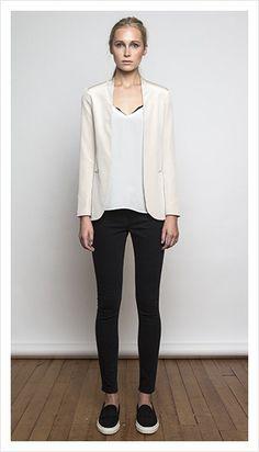 summer 2014 collection | juliette hogan Minimalist Wardrobe, Ss 15, Summer 2014, Fashion Forward, Cami, Black Jeans, Dress Up, Normcore, Silk
