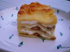 EsztiCake: Túrós csusza-lasagne Pancakes, Food And Drink, Breakfast, Lasagna, Morning Coffee, Pancake, Crepes