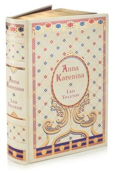 Anna Karenina (Barnes & Noble Leatherbound Classics) - so pretty! - is there anything more irresistible then a beautifully bound book?!