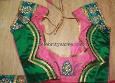 Silk Fabric Latest Saree Blouse Designs | Saree Blouse Patterns