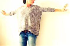 Tuto modèle Pull Oversize #tricot