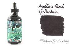 Noodler's Heart of Darkness - Great, wet, super dark black for my black black heart :-) Great FPN review