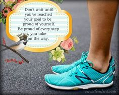 True! And I have those running shoes :)