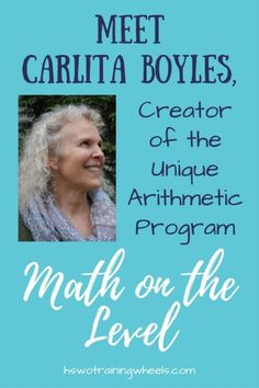Math on the Level totally changed the way we think about math instruction. I had the privilege of interviewing Carlita Boyles, creator of the program! Homeschool Curriculum Reviews, Curriculum Planning, Homeschooling Resources, Teacher Resources, Primary Science, Math Lessons, Math Activities, Mathematics, Elementary Schools